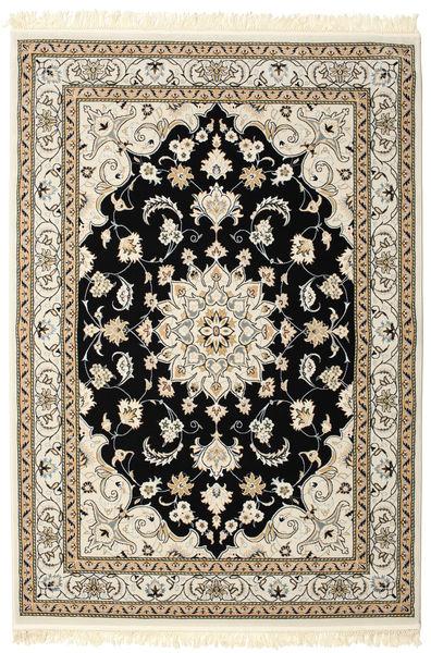 Nain Mahak Teppich  160X230 Orientalischer Hellgrau/Beige ( Türkei)