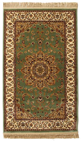 Nahal - Grün Teppich  100X160 Moderner Dunkelgrün/Braun ( Türkei)