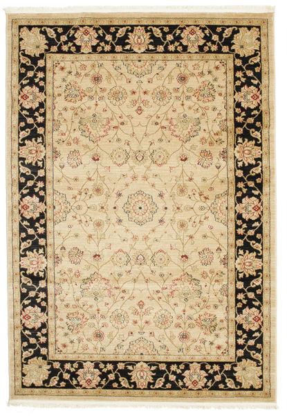 Farahan Ziegler - Beige Teppich  160X230 Orientalischer Beige/Hellbraun/Dunkel Beige ( Türkei)