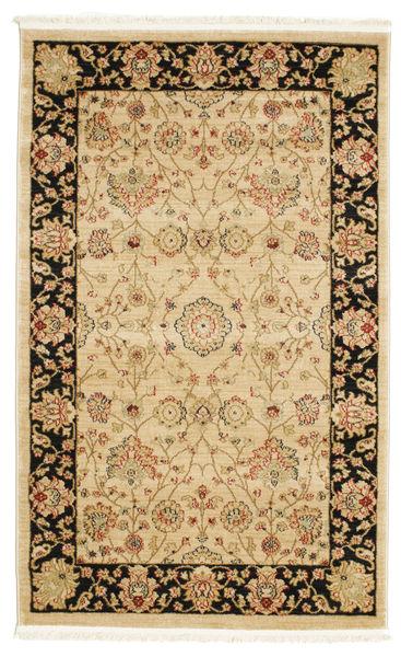 Farahan Ziegler - Beige Teppich  100X160 Orientalischer Beige/Dunkel Beige ( Türkei)