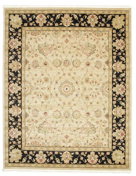 Farahan Ziegler - Beige Teppich  200X250 Orientalischer Beige/Dunkel Beige ( Türkei)