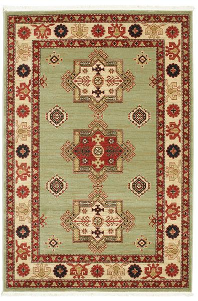 Marivan Kazak Teppich  160X230 Moderner Dunkelrot/Hell Grün ( Türkei)