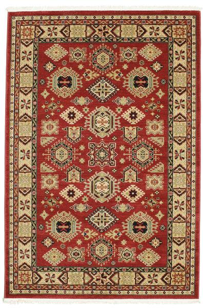 Schirwan Kazak Teppich  160X230 Moderner Dunkelrot ( Türkei)
