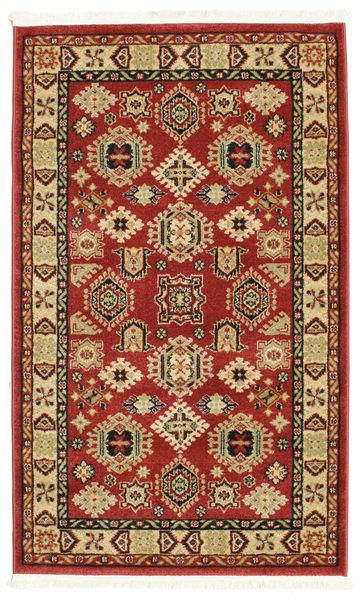 Schirwan Kazak Teppich  100X160 Moderner Dunkelrot/Weiß/Creme ( Türkei)