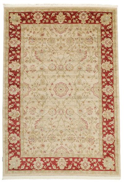 Farahan Ziegler - Beige/Rot Teppich  300X400 Orientalischer Gelb/Rot Großer ( Türkei)