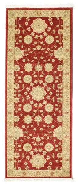 Farahan Ziegler - Rot Teppich  80X200 Orientalischer Läufer Dunkel Beige/Dunkelrot/Gelb ( Türkei)