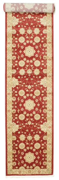 Farahan Ziegler - Rot Teppich  80X400 Orientalischer Läufer Rost/Rot/Gelb ( Türkei)