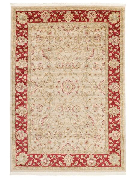 Farahan Ziegler - Beige/Rot Teppich  140X200 Orientalischer Gelb/Rot ( Türkei)