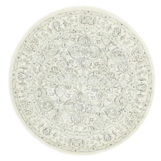 Ziegler Greenville Teppich  Ø 150 Orientalischer Rund Beige/Weiß/Creme ( Türkei)