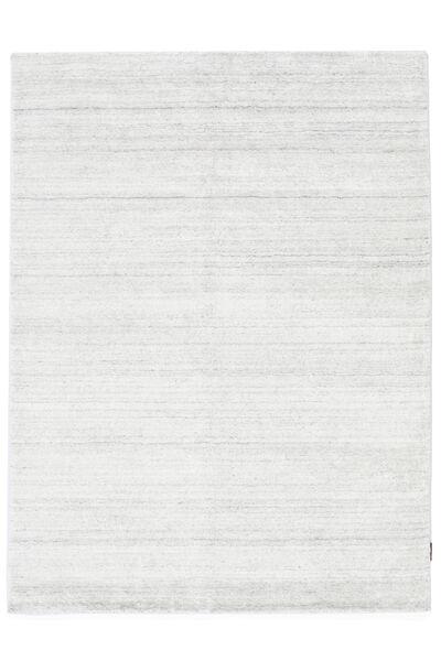 Bambus Seide Loom - Hell Natural Teppich  160X230 Moderner Beige ( Indien)