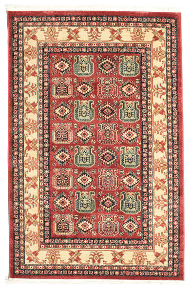 Kazak Simav Teppich  120X180 Orientalischer Rost/Rot/Dunkelrot ( Türkei)