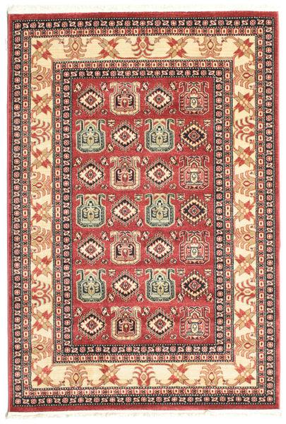 Kazak Simav Teppich  140X200 Orientalischer Rost/Rot/Dunkelrot ( Türkei)
