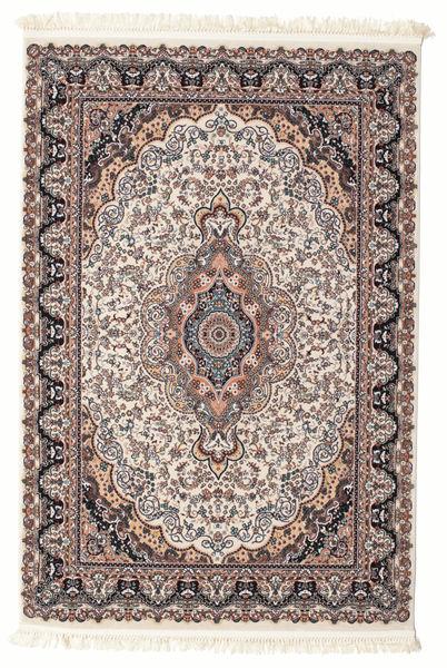 Mahendra Teppich  140X200 Orientalischer Beige/Dunkelbraun ( Türkei)