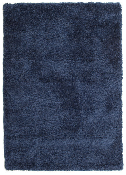 Shaggy Sadeh - Blau Teppich  120X170 Moderner Dunkelblau ( Türkei)