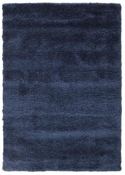 Shaggy Sadeh - Blau Teppich  140X200 Moderner Dunkelblau/Dunkellila ( Türkei)