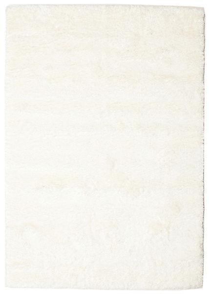 Shaggy Sadeh - Weiß Teppich  140X200 Moderner Beige/Weiß/Creme ( Türkei)