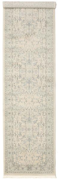 Ziegler Manhattan Teppich  80X400 Orientalischer Läufer Dunkel Beige/Hellgrau ( Türkei)