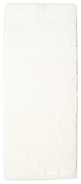 Shaggy Sadeh - Weiß Teppich  80X200 Moderner Läufer Beige/Weiß/Creme ( Türkei)