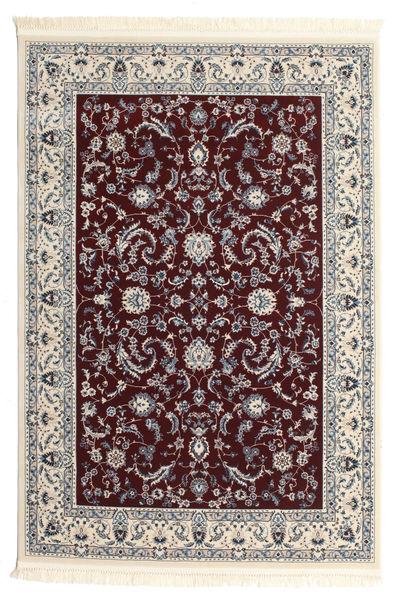 Nain Florentine - Dunkel Rot Teppich  160X230 Orientalischer Beige/Hellgrau/Dunkelbraun ( Türkei)
