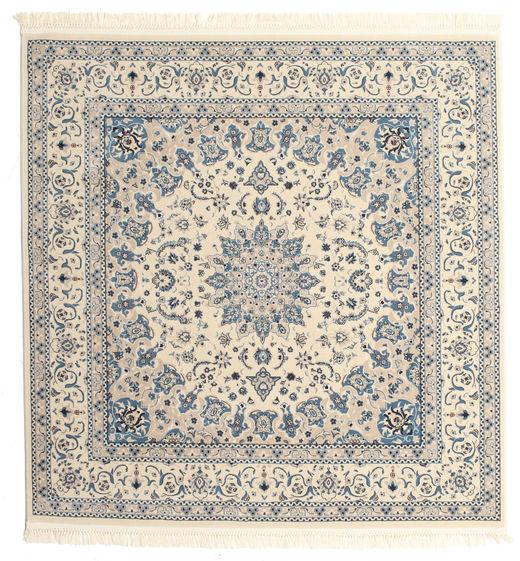 Nain Emilia - Beige/Blau Teppich  250X250 Orientalischer Quadratisch Hellgrau/Beige Großer ( Türkei)