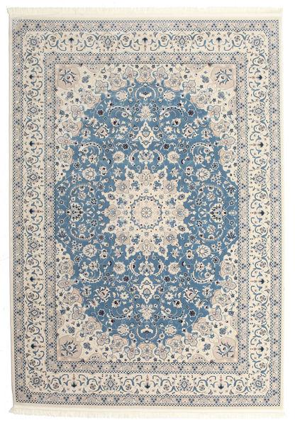 Nain Emilia - Hellblau Teppich  300X400 Orientalischer Hellgrau/Beige Großer ( Türkei)