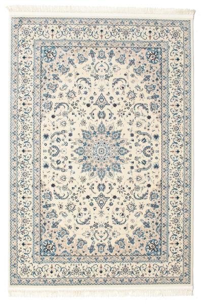 Nain Emilia - Cream/Hell Blau Teppich  140X200 Orientalischer Beige/Hellgrau ( Türkei)