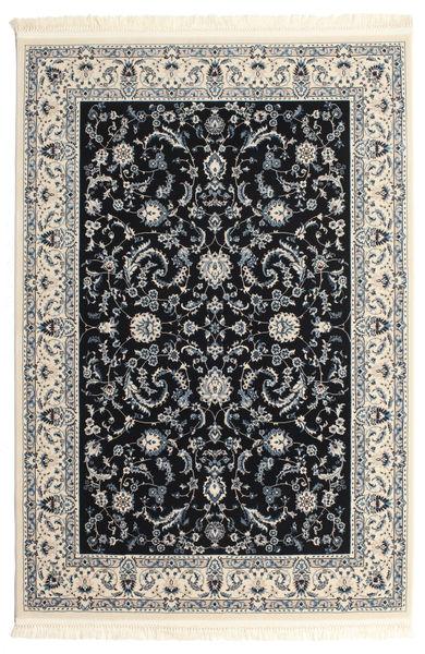 Nain Florentine - Dunkelblau Teppich  120X180 Orientalischer Hellgrau/Beige/Schwartz ( Türkei)
