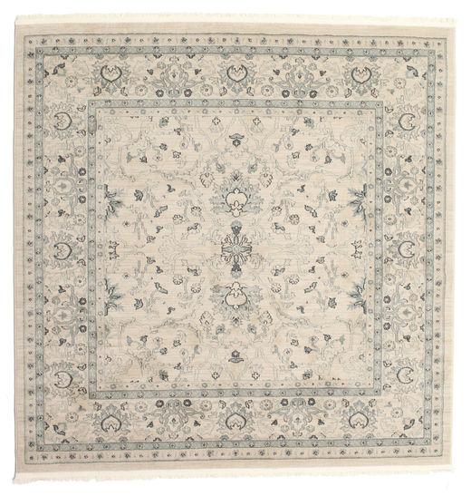Ziegler Michigan - Grün/Beige Teppich  200X200 Orientalischer Quadratisch Hellgrau/Beige ( Türkei)