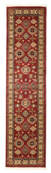 Schirwan Kazak Teppich  80X300 Orientalischer Läufer Dunkelrot/Hellbraun ( Türkei)