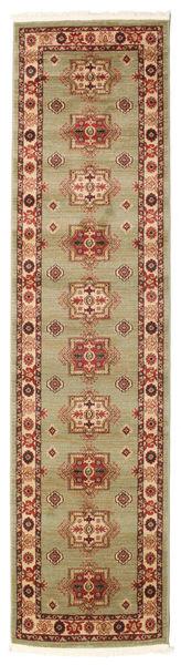 Marivan Kazak Teppich  80X300 Orientalischer Läufer Braun/Dunkelrot ( Türkei)