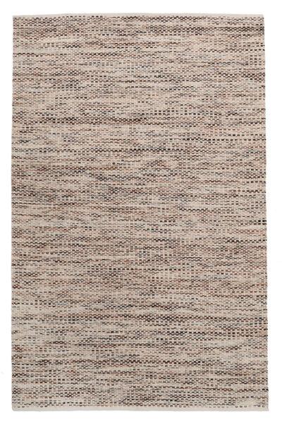 Pebbles - Braun Mix Teppich  160X230 Echter Moderner Handgewebter Hellgrau/Beige ( Indien)