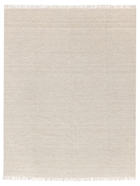 Melange - Sand Teppich  250X350 Echter Moderner Handgewebter Beige Großer (Wolle, Indien)