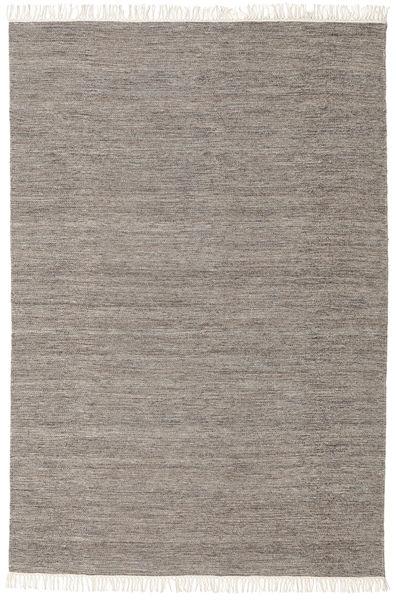 Melange - Braun Teppich  160X230 Echter Moderner Handgewebter Hellgrau/Beige (Wolle, Indien)