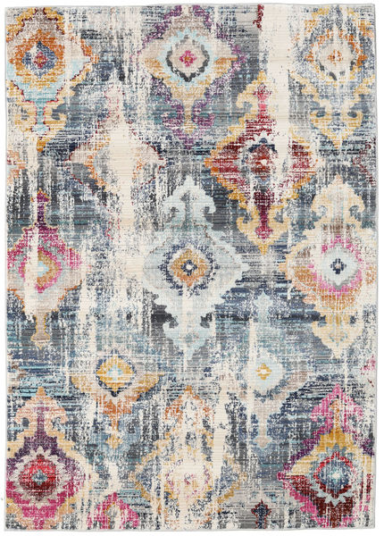 Seren Teppich  118X176 Moderner Hellgrau/Dunkelgrau ( Türkei)