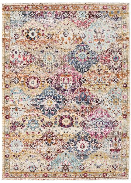 Molina - Bright Teppich  142X206 Moderner Hellgrau/Weiß/Creme ( Türkei)