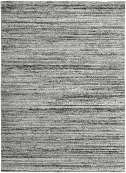 Mazic - Grau Teppich  160X230 Echter Moderner Handgeknüpfter Dunkelgrau/Türkisblau/Hellgrau (Wolle, Indien)