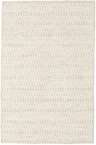 Kelim Long Stitch - Beige Teppich  120X180 Echter Moderner Handgewebter Beige/Dunkel Beige (Wolle, Indien)