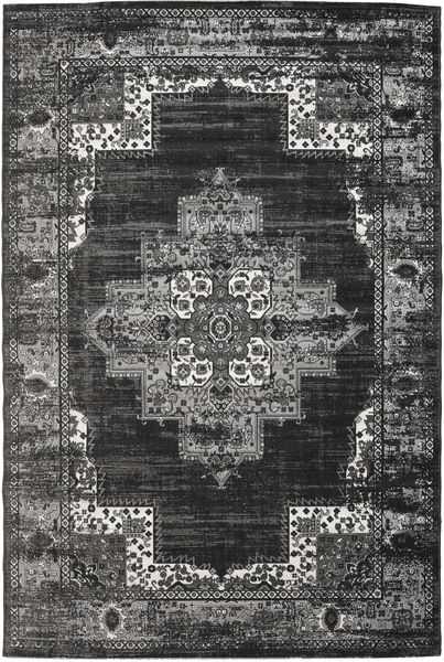 Vintage Vega - Anthracite/Grau Teppich  200X300 Moderner Dunkelgrau/Hellgrau ( Türkei)