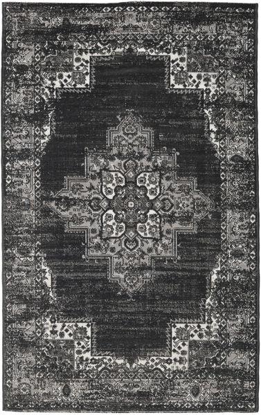 Vintage Vega - Anthracite/Grau Teppich  100X160 Moderner Dunkelgrau/Hellgrau ( Türkei)