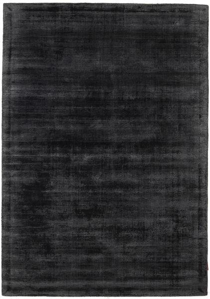 Tribeca - Charcoal Teppich  140X200 Moderner Schwartz/Dunkelgrau ( Indien)
