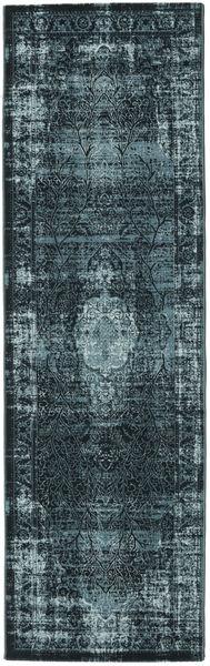 Jacinda - Dunkel Teppich  80X250 Moderner Läufer Blau/Dunkelblau ( Türkei)
