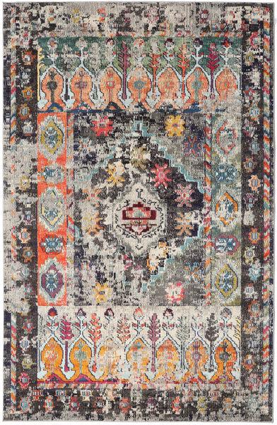 Cassiopeia - Vintage Teppich  200X300 Moderner Hellgrau/Schwartz ( Türkei)