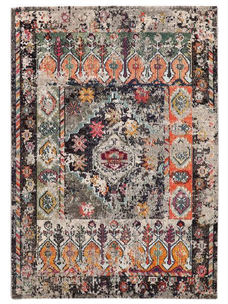 Cassiopeia - Vintage Teppich  120X170 Moderner Hellgrau/Dunkelgrau ( Türkei)
