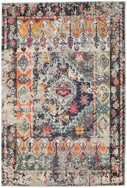 Cassiopeia - Vintage Teppich  160X230 Moderner Hellgrau/Schwartz ( Türkei)