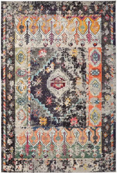 Cassiopeia - Vintage Teppich  240X340 Moderner Hellgrau/Dunkelblau ( Türkei)