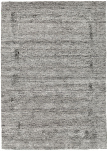 Handloom Gabba - Grau Teppich  160X230 Moderner Hellgrau/Dunkelgrau (Wolle, Indien)