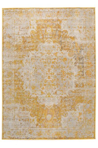 Nadia - Gelb Teppich  160X230 Moderner Gelb/Beige ( Türkei)
