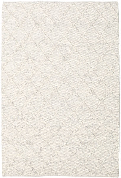 Rut - Eisgrau Melange Teppich  160X230 Echter Moderner Handgewebter Hellgrau/Beige/Weiß/Creme (Wolle, Indien)