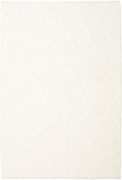 Svea - Ivory Teppich  200X300 Echter Moderner Handgewebter Beige (Wolle, Indien)