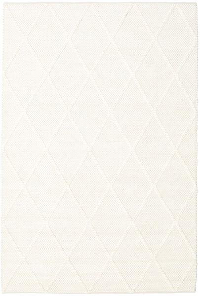 Svea - Ivory Teppich  160X230 Echter Moderner Handgewebter Beige (Wolle, Indien)